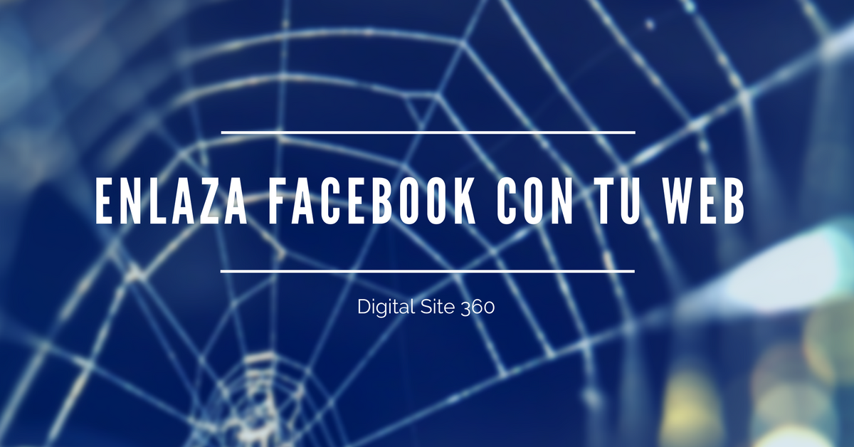 Enlazar Facebook con Páginas Web