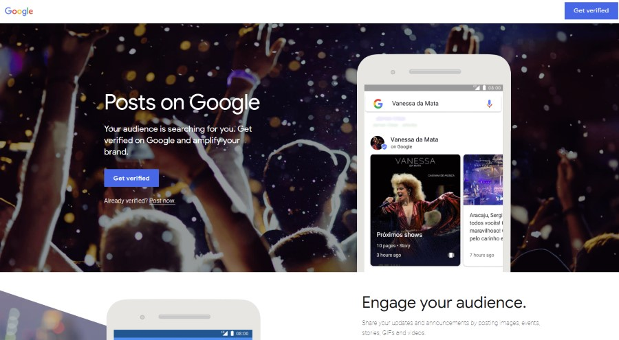 Verificar tu identidad en Google. Post on Google. Publicar en Google